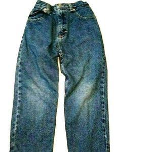 Greendog Boys Jeans Size 7x Elastic Waist